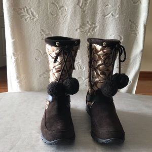 COACH WINTER BOOTS SIZE 8B